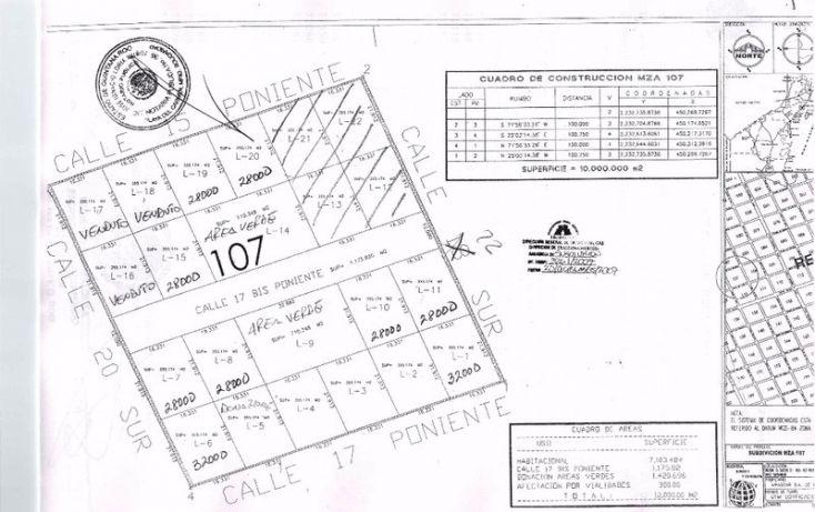 Foto de terreno habitacional en venta en, tulum centro, tulum, quintana roo, 1863012 no 05