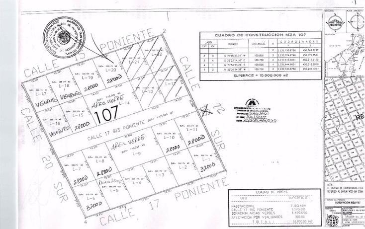 Foto de terreno habitacional en venta en  , tulum centro, tulum, quintana roo, 1863012 No. 05