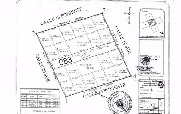 Foto de terreno habitacional en venta en, tulum centro, tulum, quintana roo, 1863016 no 05