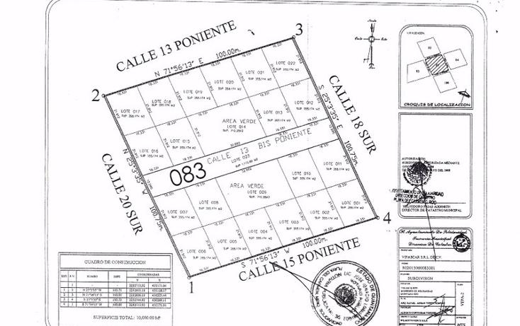 Foto de terreno habitacional en venta en  , tulum centro, tulum, quintana roo, 1863016 No. 05