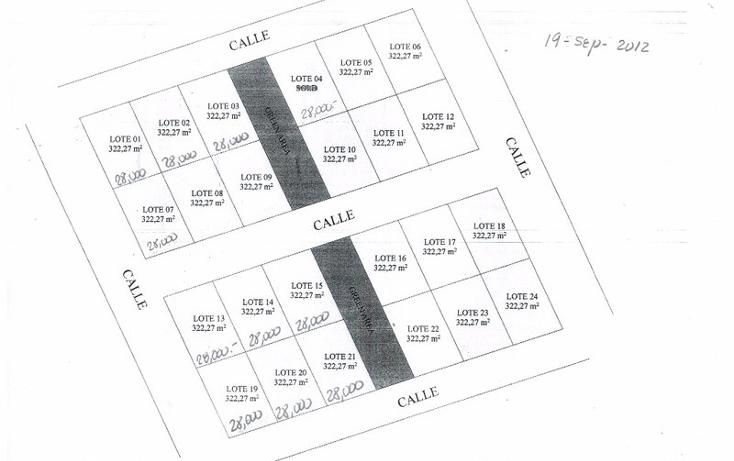 Foto de terreno habitacional en venta en  , tulum centro, tulum, quintana roo, 1863022 No. 02