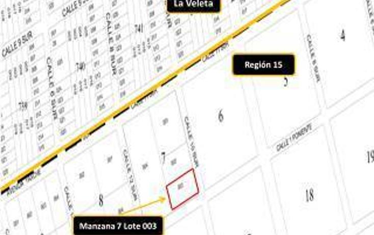 Foto de terreno habitacional en venta en  , tulum centro, tulum, quintana roo, 1863038 No. 01
