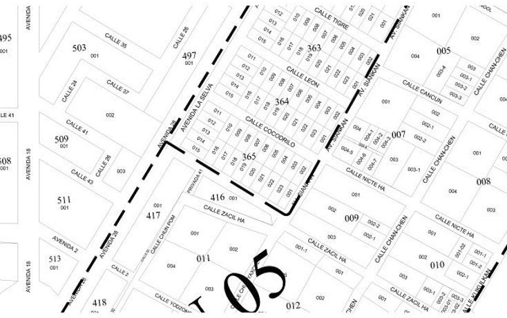 Foto de terreno habitacional en venta en  , tulum centro, tulum, quintana roo, 1863042 No. 03