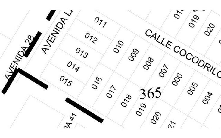 Foto de terreno habitacional en venta en  , tulum centro, tulum, quintana roo, 1863042 No. 05