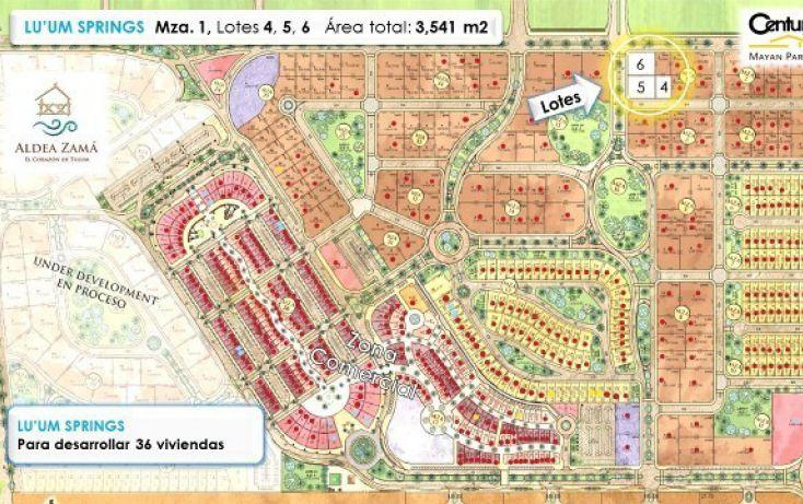 Foto de terreno habitacional en venta en, tulum centro, tulum, quintana roo, 1962693 no 02