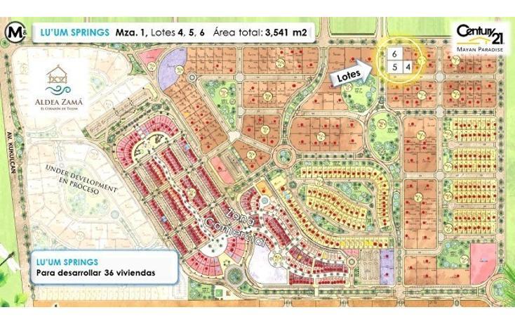 Foto de terreno habitacional en venta en  , tulum centro, tulum, quintana roo, 1962693 No. 02