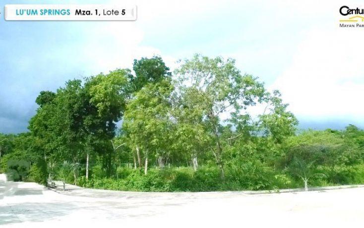 Foto de terreno habitacional en venta en, tulum centro, tulum, quintana roo, 1962693 no 05