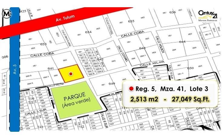 Foto de terreno habitacional en venta en  , tulum centro, tulum, quintana roo, 1962699 No. 04