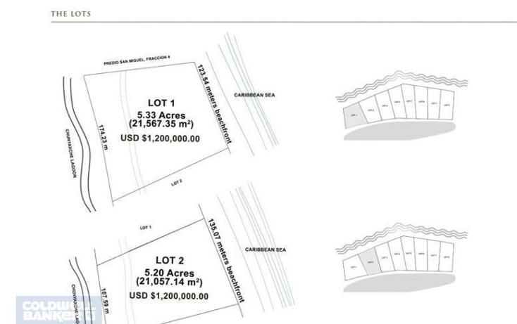 Foto de terreno comercial en venta en  , tulum centro, tulum, quintana roo, 2011810 No. 14