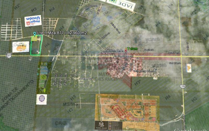 Foto de terreno comercial en venta en  , tulum centro, tulum, quintana roo, 1848700 No. 01