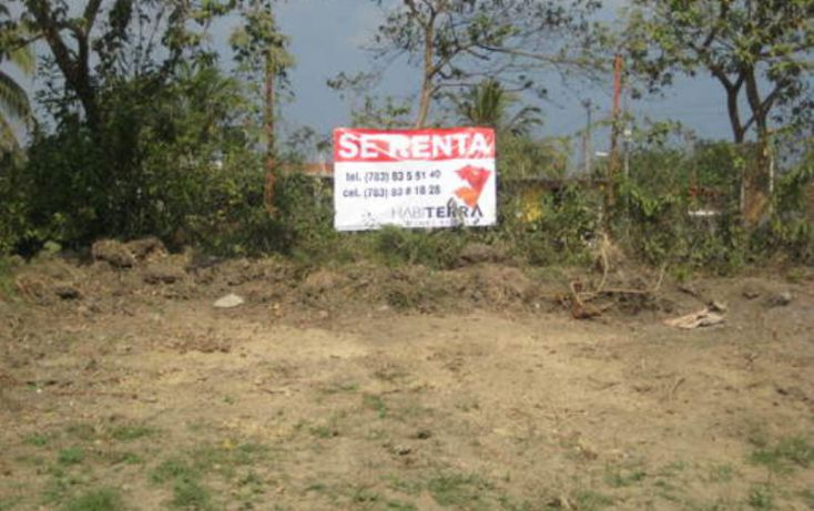 Foto de terreno comercial en renta en, túxpam de rodríguez cano centro, tuxpan, veracruz, 1623512 no 01