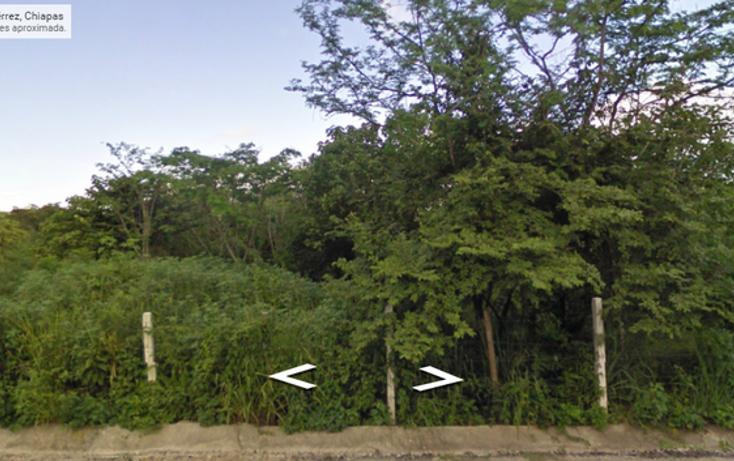 Foto de terreno habitacional en venta en  , tuxtlán mactumatza, tuxtla gutiérrez, chiapas, 816275 No. 01