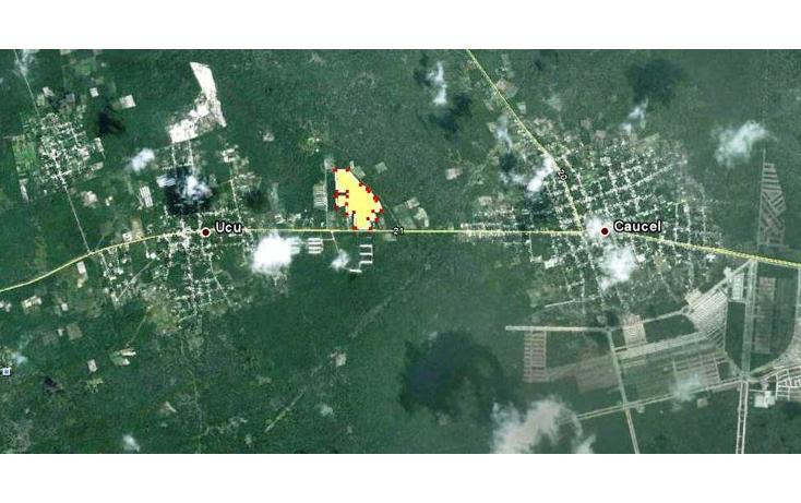 Foto de terreno habitacional en venta en  , ucu, ucú, yucatán, 1046427 No. 02