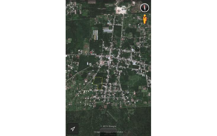 Foto de terreno habitacional en venta en  , ucu, ucú, yucatán, 1091385 No. 01