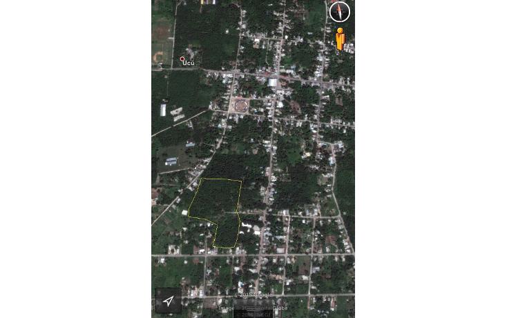 Foto de terreno habitacional en venta en  , ucu, ucú, yucatán, 1091385 No. 02