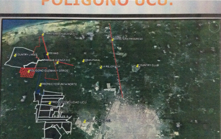 Foto de terreno habitacional en venta en  , ucu, ucú, yucatán, 1107579 No. 01