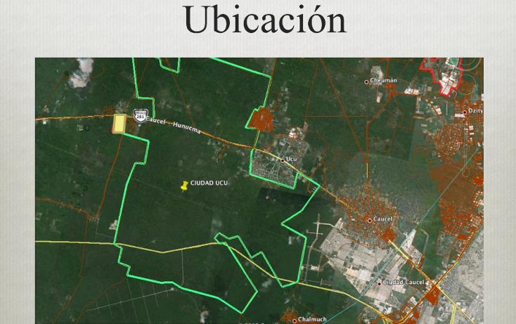 Foto de terreno comercial en venta en  , ucu, ucú, yucatán, 1291505 No. 02