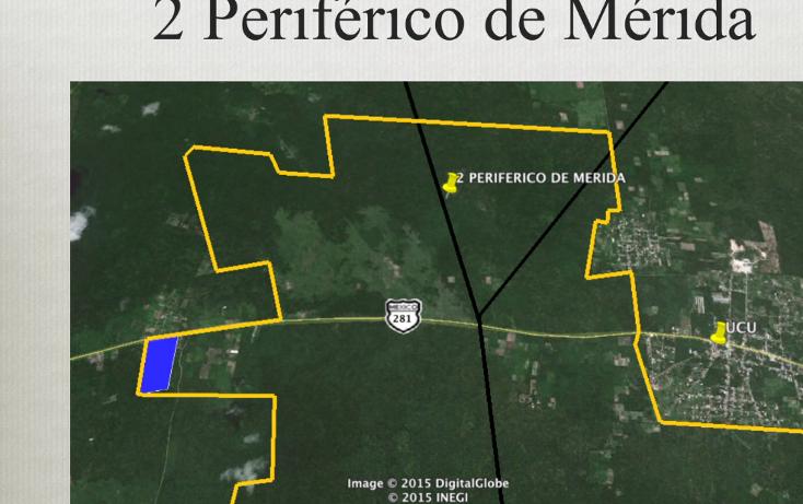 Foto de terreno comercial en venta en  , ucu, ucú, yucatán, 1291505 No. 04