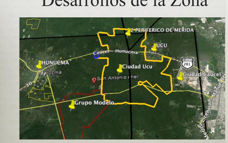 Foto de terreno comercial en venta en  , ucu, ucú, yucatán, 1291505 No. 05