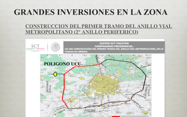 Foto de terreno comercial en venta en  , ucu, ucú, yucatán, 1291505 No. 07