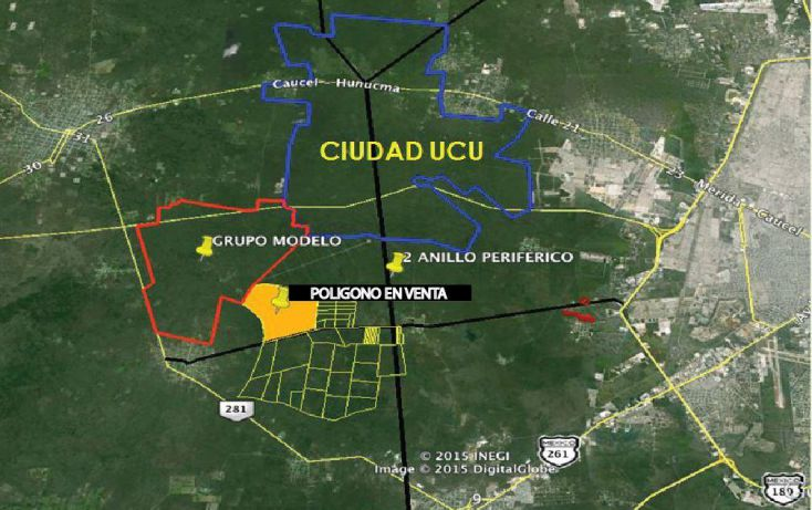 Foto de terreno comercial en venta en, ucu, ucú, yucatán, 1770062 no 04