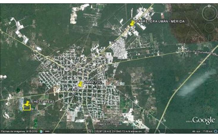 Foto de terreno comercial en venta en  , uman, umán, yucatán, 1078529 No. 02