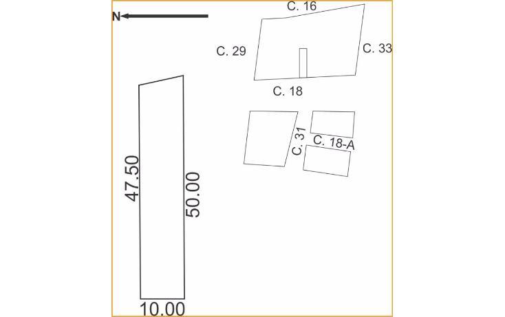 Foto de terreno habitacional en venta en, uman, umán, yucatán, 1719266 no 03