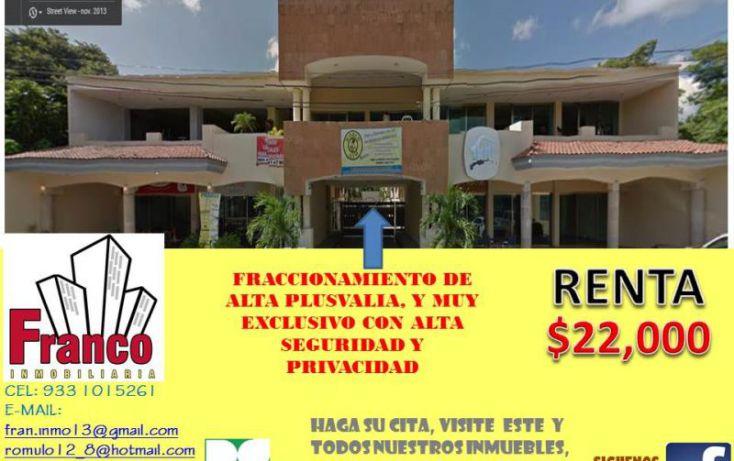 Foto de casa en renta en única calle, san francisco, comalcalco, tabasco, 1151265 no 01