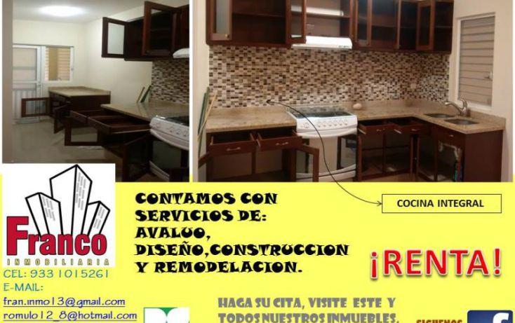 Foto de casa en renta en única calle, san francisco, comalcalco, tabasco, 1151265 no 02
