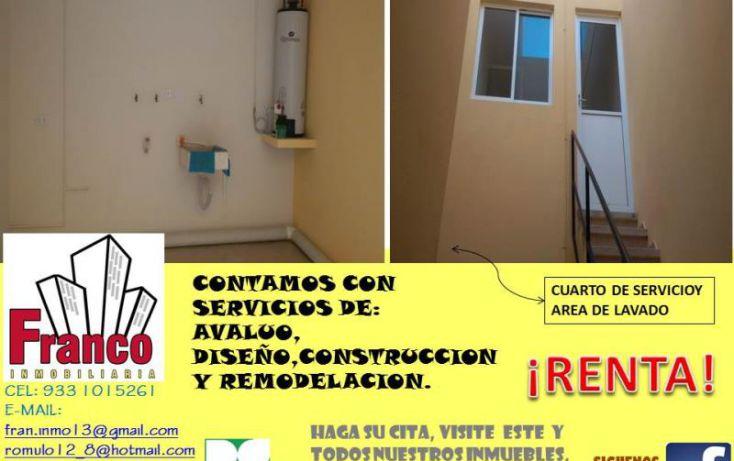 Foto de casa en renta en única calle, san francisco, comalcalco, tabasco, 1151265 no 03