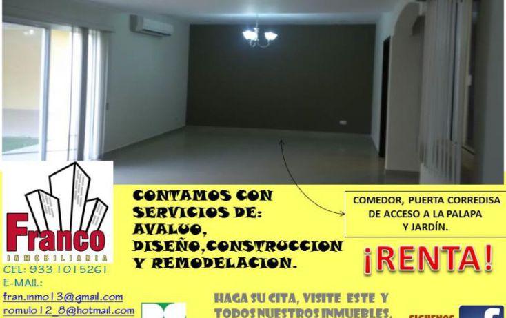 Foto de casa en renta en única calle, san francisco, comalcalco, tabasco, 1151265 no 04