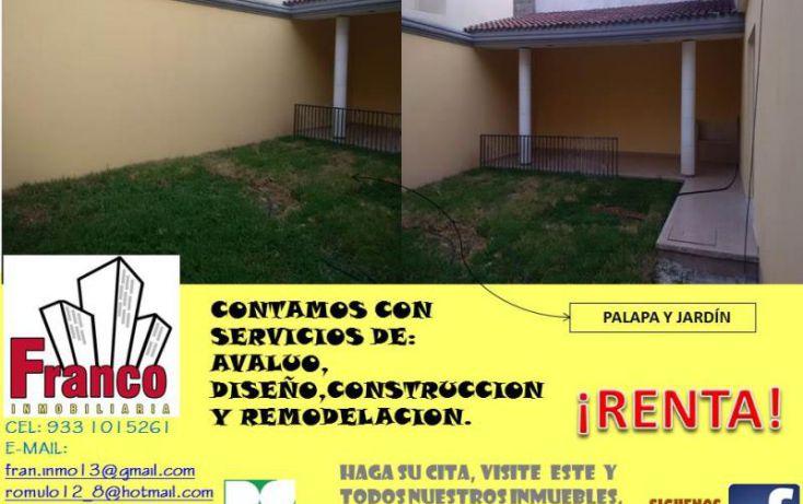 Foto de casa en renta en única calle, san francisco, comalcalco, tabasco, 1151265 no 07