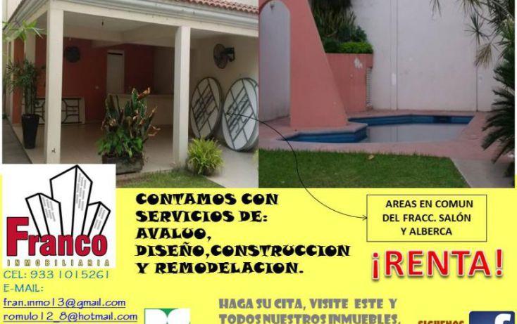 Foto de casa en renta en única calle, san francisco, comalcalco, tabasco, 1151265 no 09