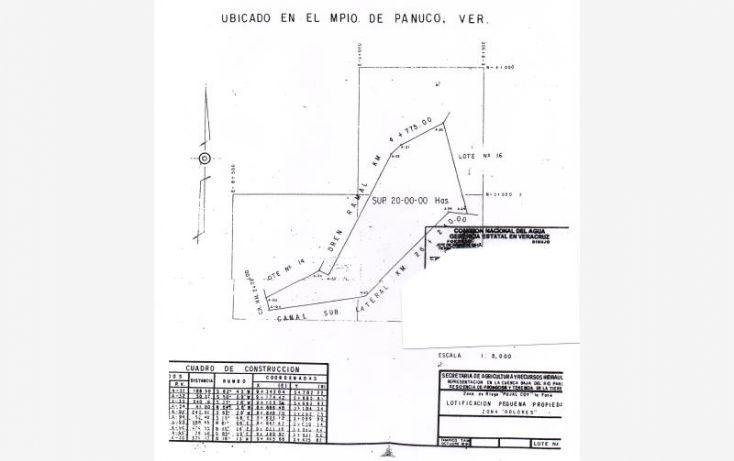 Foto de terreno habitacional en venta en unidad dolores, guayalejo, pánuco, veracruz, 998291 no 07