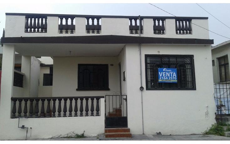 Foto de casa en venta en  , unidad modelo, monterrey, nuevo león, 1664554 No. 01