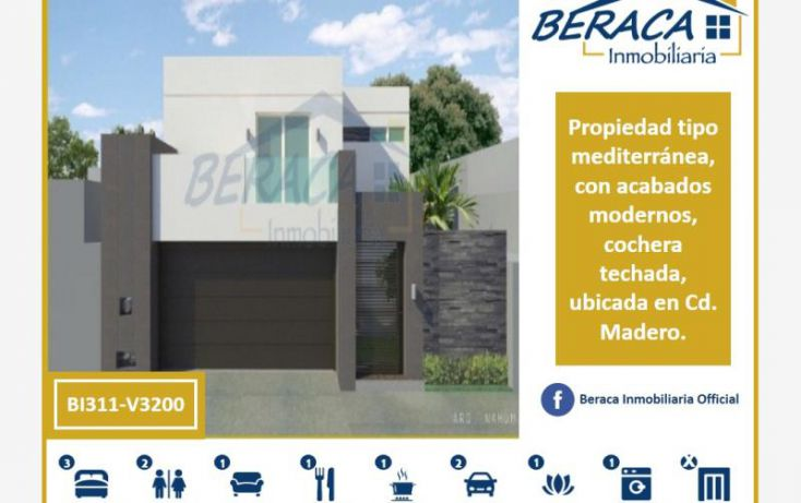 Foto de casa en venta en, unidad nacional, ciudad madero, tamaulipas, 1795166 no 01