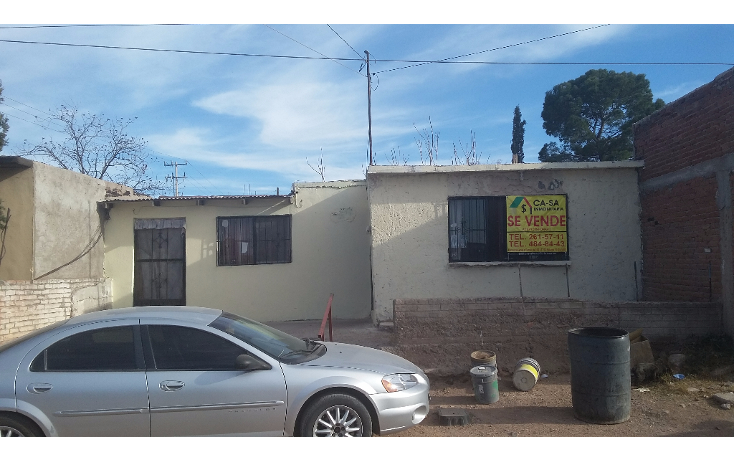 Foto de casa en venta en  , unidad proletaria, chihuahua, chihuahua, 1647044 No. 01