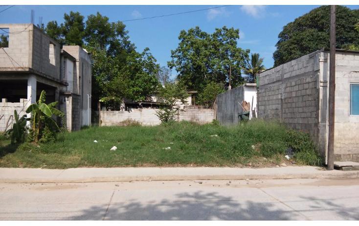 Foto de terreno habitacional en venta en  , unidad satélite, altamira, tamaulipas, 2017752 No. 01