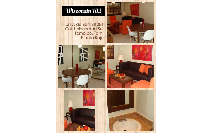 Foto de departamento en renta en  , universidad sur, tampico, tamaulipas, 1680996 No. 02