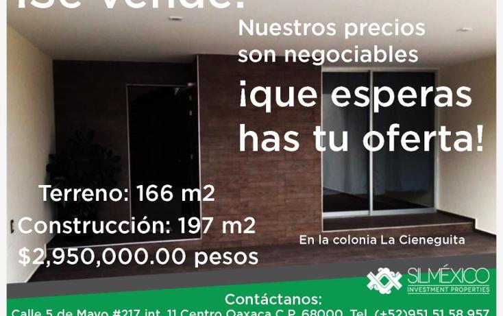 Foto de casa en venta en  , universitaria, miahuatl?n de porfirio d?az, oaxaca, 1726236 No. 01