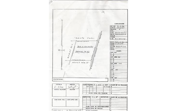 Foto de terreno habitacional en venta en  , valladolid centro, valladolid, yucatán, 1133181 No. 01