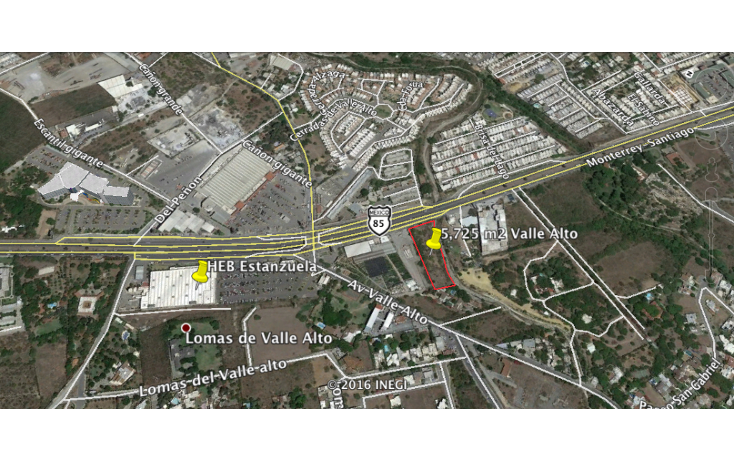Foto de terreno comercial en venta en  , valle alto, monterrey, nuevo león, 2038290 No. 01