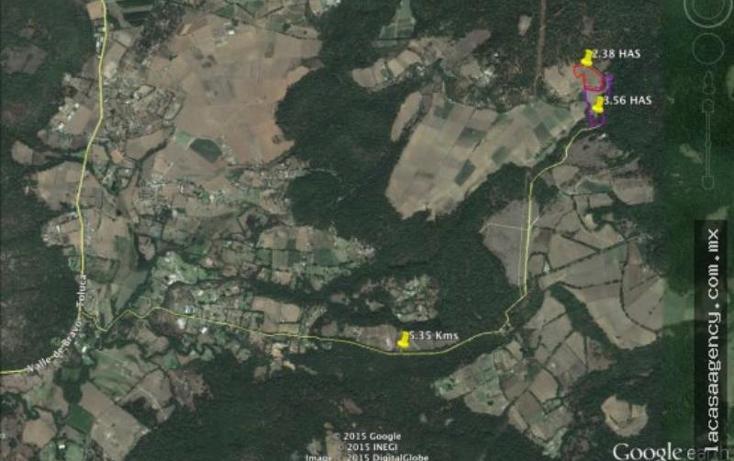 Foto de terreno habitacional en venta en  , valle de bravo, valle de bravo, méxico, 853985 No. 03