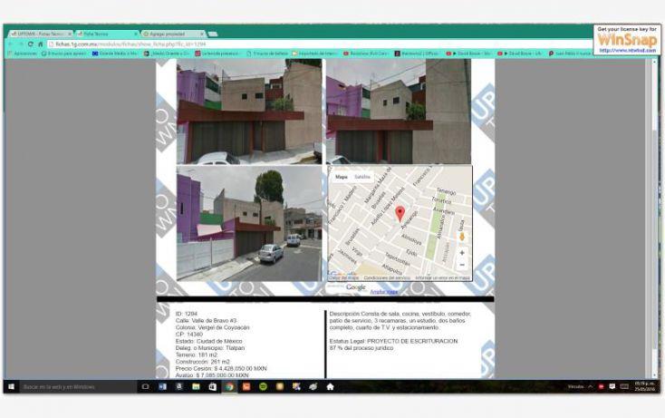 Foto de casa en venta en valle de bravo, vergel de coyoacán, tlalpan, df, 2038036 no 02