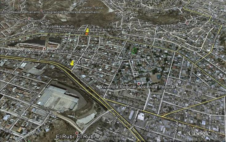Foto de terreno habitacional en venta en  , valle del rubí sección lomas, tijuana, baja california, 1396141 No. 01