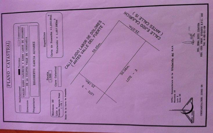 Foto de terreno comercial en venta en  , valle del sur, chihuahua, chihuahua, 1278247 No. 01