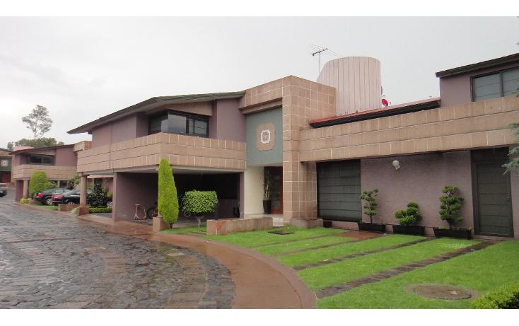 Foto de casa en venta en  , valle escondido, tlalpan, distrito federal, 949505 No. 01