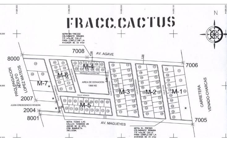 Foto de terreno habitacional en venta en  , venado, venado, san luis potosí, 1264789 No. 01