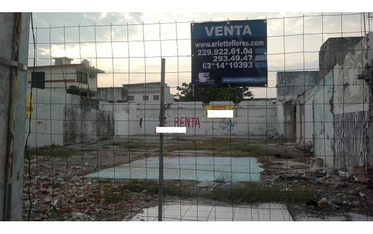Foto de terreno habitacional en venta en  , veracruz centro, veracruz, veracruz de ignacio de la llave, 1082051 No. 01