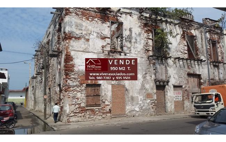 Foto de edificio en venta en  , veracruz centro, veracruz, veracruz de ignacio de la llave, 1627190 No. 01